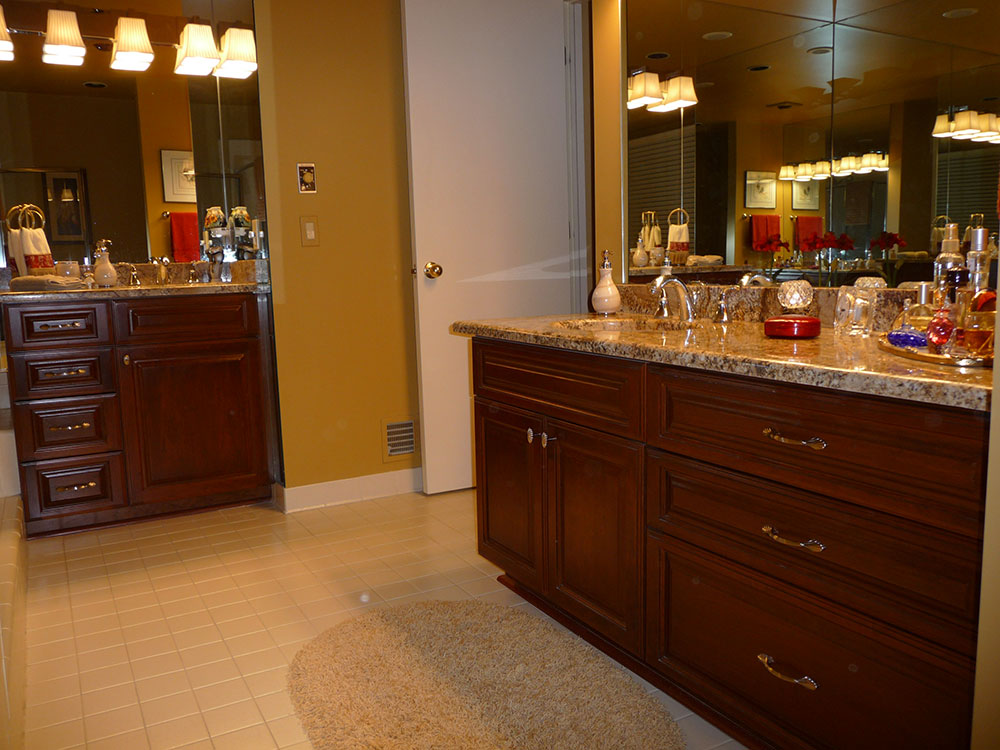 Custom Bathroom Vanities Michigan custom cabinetry in michigan | dr home solutions cabinetry pros