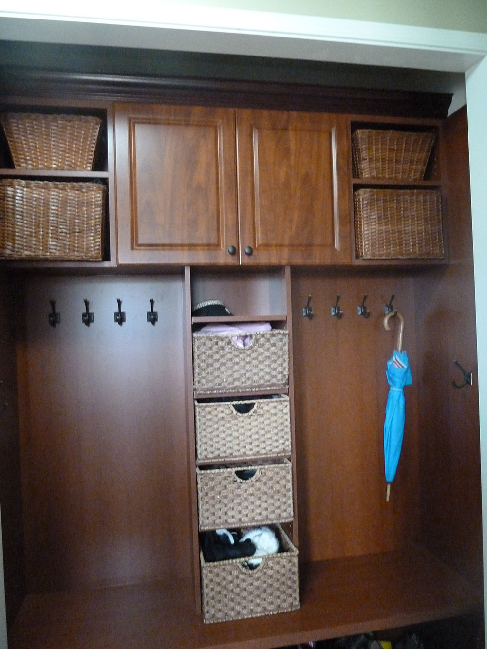 Marvelous Garage Entry Closet
