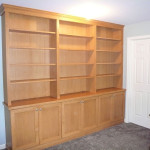 Maple-shelving-unit